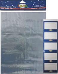 ΚΑΛΥΜΜΑ ΒΙΒΛΙΟΥ PVC 17Χ24 BLISTER 5TEM LUNA