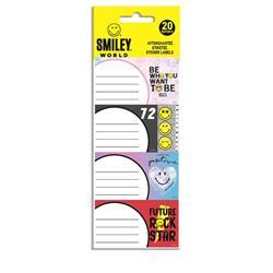 Ετικέτες Αυτοκόλλητες Smiley 20 Τμχ. σε 5 Σχέδια