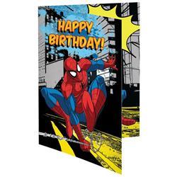 Κάρτα Ευχετήρια Γενεθλίων Spiderman 11,7x16,8 εκ.