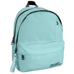 BACKPACK MUST MONOCHROME 32Χ19Χ42 4CASES LIGHT GREEN 900D RPET
