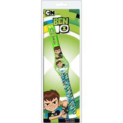 Ρολόι Χειρός Παιδικό Ben 10 Ψηφιακό σε Clamshell