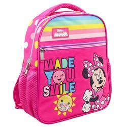 Τσάντα Πλάτης Νηπιαγωγείου Disney Minnie Mouse Made You Smile με 2 Θήκες