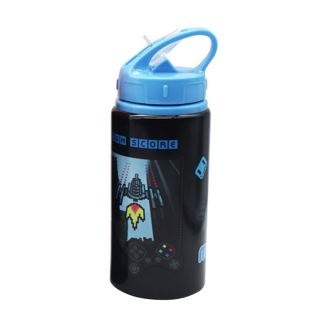 Παιδικό Παγούρι 500 ml Must Αλουμινίου με Καλαμάκι, 4 Σχέδια