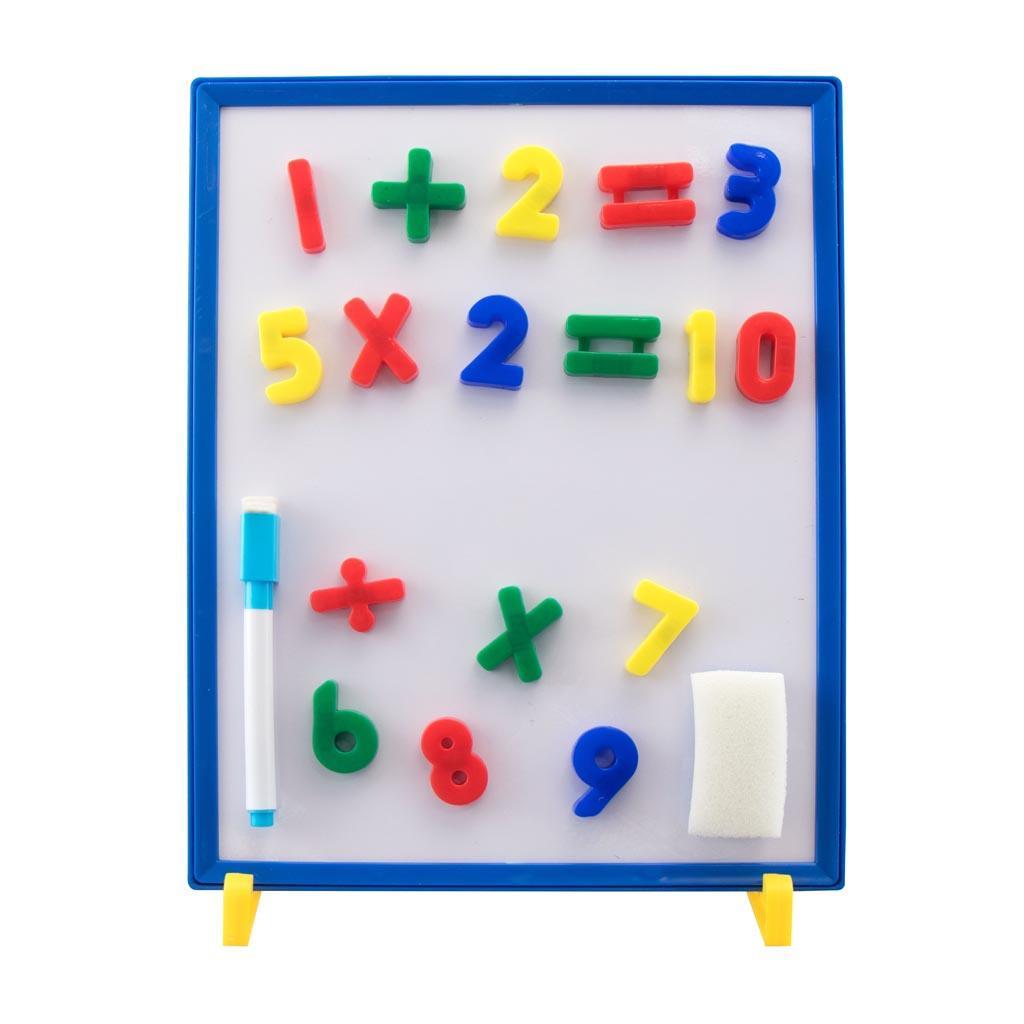 Μαγνητικός Πίνακας – Μαυροπίνακας Ελληνικό Αλφάβητο και Αριθμοί Luna Toys